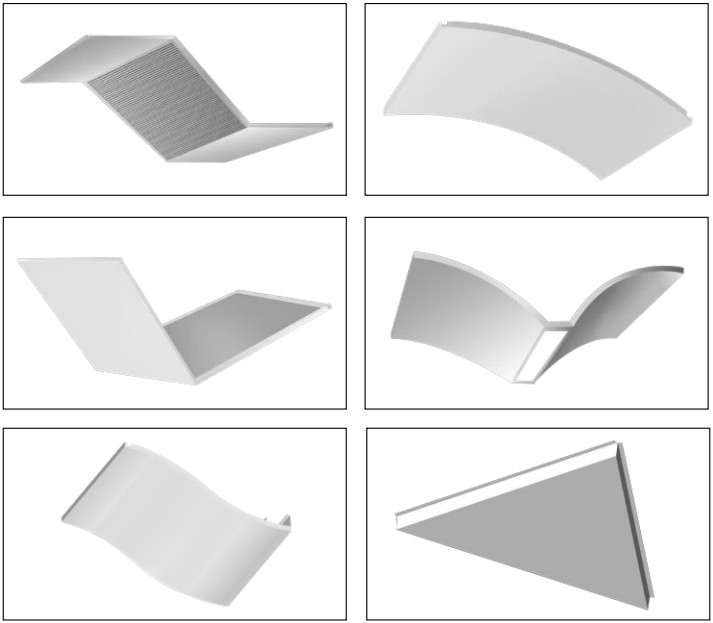 钢质板造型