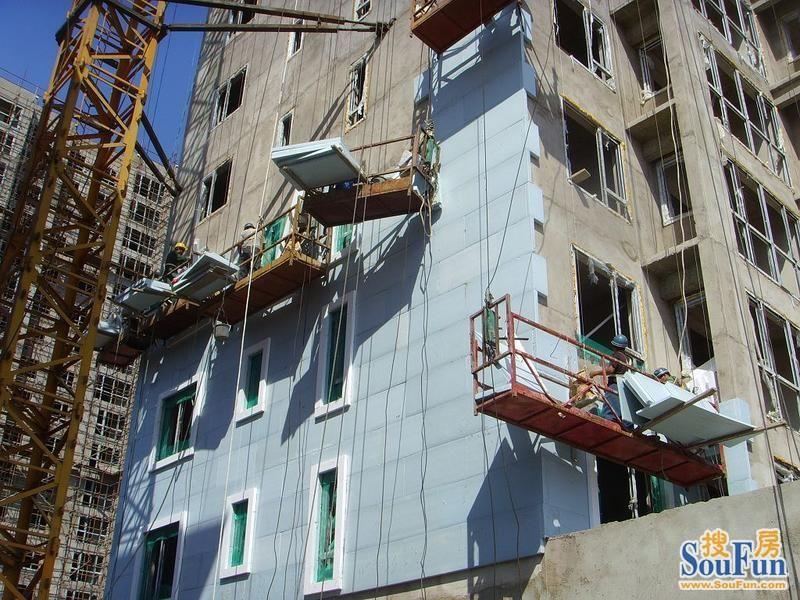 挤塑板外墙施工应注意安全-钢结构外墙艺术家