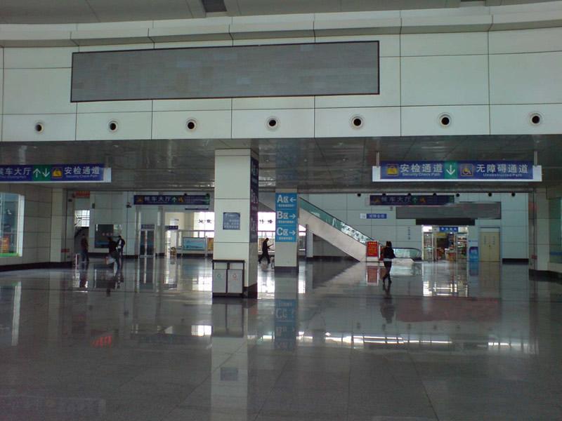 > 火车站候车室工程